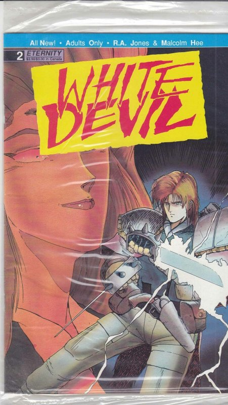 White Devil #2 (in bag) VF; Eternity | save on shipping - details inside