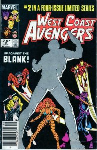 West Coast Avengers (Ltd. Series) #2 (Newsstand) FN; Marvel | save on shipping -