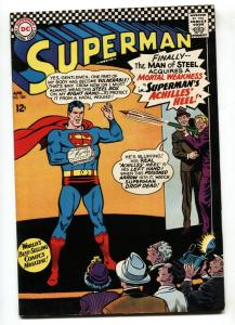 SUPERMAN #185 1966-DC COMICS-POISON DART GUN-VF-