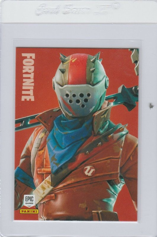 Fortnite Rust Lord 230 Epic Outfit Panini 2019 trading card series 1