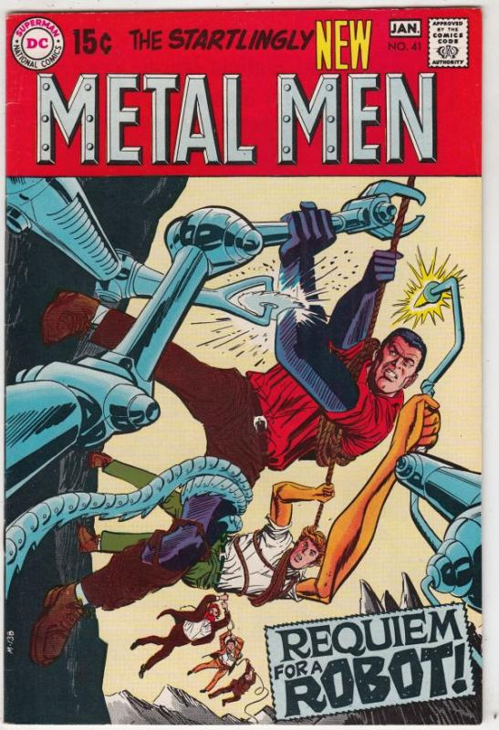 Metal Men #41 (Jan-70) NM- High-Grade Metal Men (Led, Tina, Tin, Gold, Mercur...