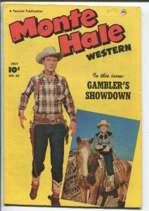 MONTE HALE #62-1951-FAWCETT-B-WESTERN STAR-GABBY HAYES-EGYPTIAN COLLECTION-vf