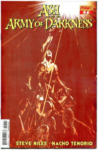 ASH and the ARMY OF DARKNESS #7, NM-, Bruce Campbell, 2013, more AOD in store