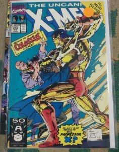 UNCANNY X-MEN #279 1991 MARVEL MUIR ISLAND SAGA  COLOSSUS SHADOW KING