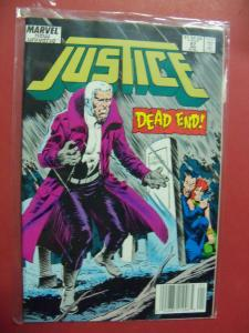 JUSTICE #27   (9.0 to 9.4 or better)  MARVEL COMICS