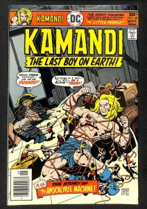 Kamandi, The Last Boy on Earth #45 (1976)