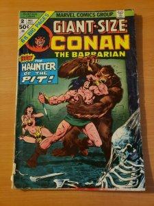 Giant Size Conan The Barbarian #2 ~ VERY GOOD VG ~ 1974 Marvel Comics