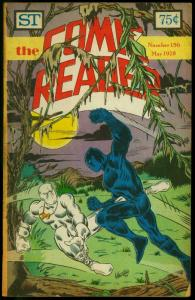 The Comic Reader Fanzine #156 1978- Black Panther cover VG