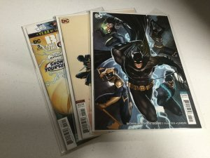 Batman And The Outsiders 1 2 3 Variant Lot Nm Near Mint DC Comics