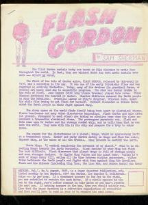 Skybird Fanzine #1 1961-Flash Gordon serials- Buster Crabbe-Ron Haydock
