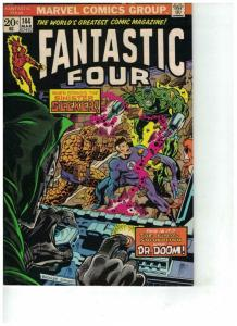 FANTASTIC FOUR 144 FINE March 1974