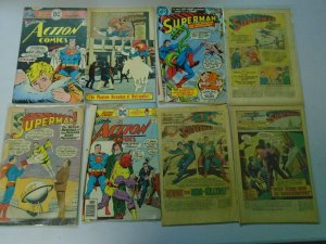 Silver + Bronze age Superman reader comic lot 39 different issues