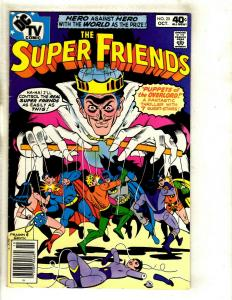11 The Super Friends DC Comics #  25 26 28 29 30 31 32 33 38 39 41 Superman WS1