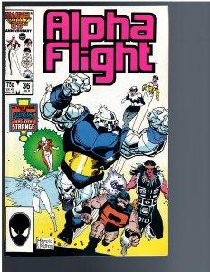 Alpha Flight #36 (1986)