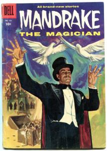 Mandrake the Magician- Four Color Comics #752 1956- Painted cover VG