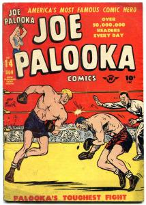 JOE PALOOKA #14 1947-HARVEY COMICS-BOXING-FLYIN' FOOL FN-