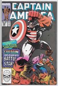 Captain America   vol. 1   #349 FN Gruenwald/Dwyer, Frenz 100 cover tribute