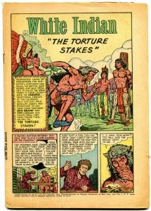 White Indian #14 1954- Golden Age Western comic- Coverless