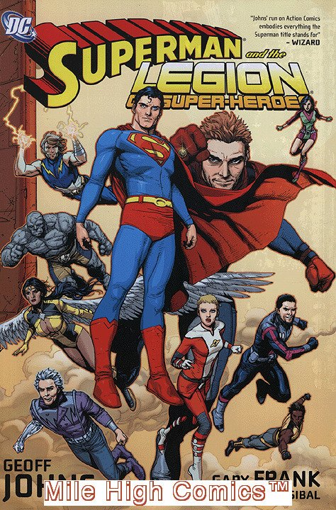 SUPERMAN AND THE LEGION OF SUPER-HEROES HC (2008 Series) #1 Near Mint