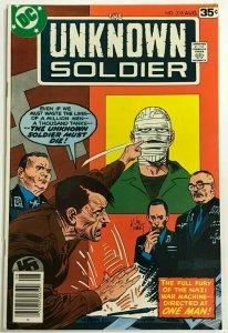 UNKNOWN SOLDIER#218 VF/NM 1978 DC BRONZE AGE COMICS