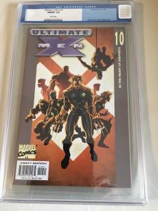 Ultimate X-Men #10 CGC 9.8 (Nov 2001, Marvel)