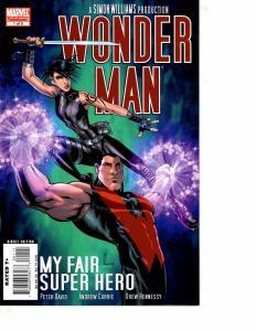 Lot Of 2 Marvel Comic Books Wonder Man #1 and Captain America White #0 BF3