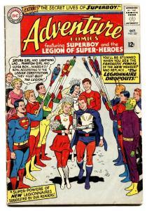ADVENTURE-#337 comic book 1963-DC-SUPERBOY-LEGION OF SUPER-HEROES