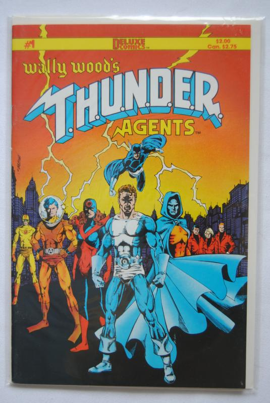 Wally Wood's T.H.U.N.D.E.R. Agents #1 NM