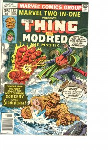 Marvel Two-In-One 33 VG/F   Modred!