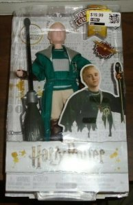 Drago Malefoy Quidditch Figure With Broomstick Harry Potter