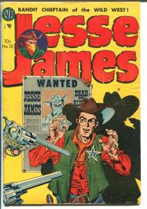 Jesse James  #15-1953-Avon-Black Bart-western outlaws-VG