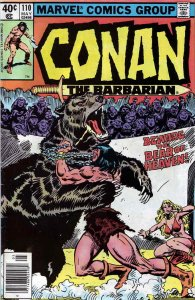 Conan the Barbarian #110 (Newsstand) FN; Marvel | save on shipping - details ins