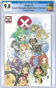 X-Men #12  CGC 9.8 Marvel 2020. Peach Momoko TD Variant PRE-ORDER 9/30/2020
