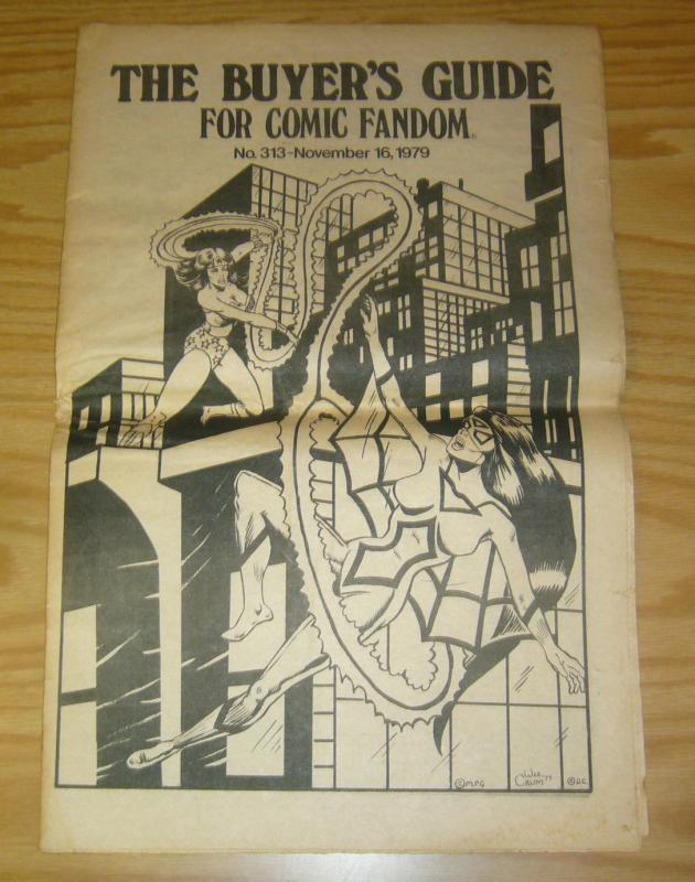 Buyer's Guide for Comic Fandom, The #313 FN; Alan Light | save on shipping - det