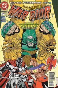 Guy Gardner: Warrior #27 VF/NM; DC | save on shipping - details inside