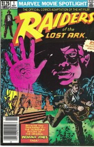 Raiders of the Lost Ark #1 (11-82) - Indiana Jones - 64-page collector's special