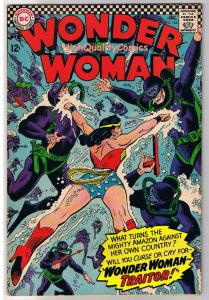 WONDER WOMAN #164, FN+, Sharks, Traitor, Amazon, 1942, more WW in store