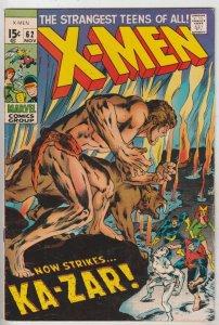 X-Men #62 (Nov-69) VF+ High-Grade X-Men