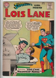 Lois Lane, Superman's Girlfriend  #43 (Aug-63) FN/VF Mid-High-Grade Superman,...