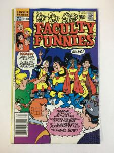 FACULTY FUNNIES (1989-1990)5 VF-NM May 1990 COMICS BOOK