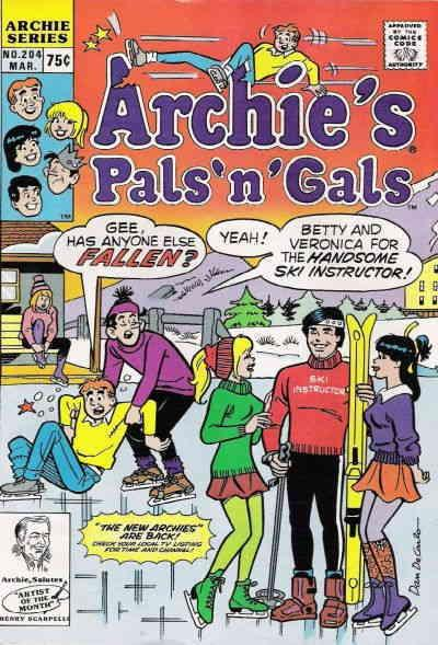 Archie's Pals 'n Gals #204 VF/NM Archie - save on shipping - details inside