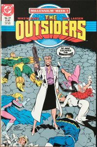 THE OUTSIDERS Comic Issue 27 — 1988 DC Universe - Millennium Week 1 - VF+ Cond