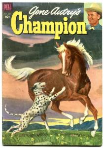 Gene Autry's Champion #10 1953-Dell Golden Age Western FN-