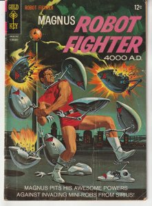 Magnus Robot Fighter(Gold Key) # 17  Alien Invasion !