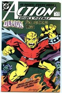 Action Comics Weekly 638 Feb 1989 NM- (9.2)