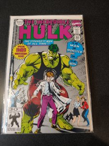 The Incredible Hulk 393 2nd Print Silver Variant Cover 30th Anniversary issue