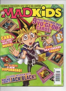 MAD KIDS #4 Magazine, NM, Cars, Skateboard, Yu-Gi-Oh, 2006