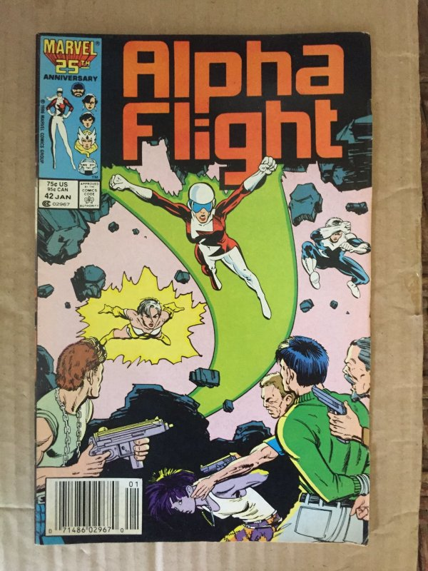 Alpha Flight #42