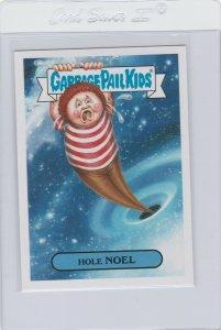 Garbage Pail Kids Hole Noel 18b GPK 2017 Adam Geddon trading card sticker