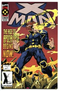 X-Man #1 RARE 2nd Print 1st appearance of X-Man (Nate Grey) Marvel